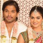 allu-Arjun-sneha marriage-photo
