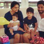 allu arjun son, daughter and wife