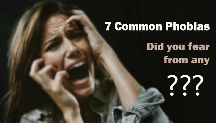 7 Common Phobias